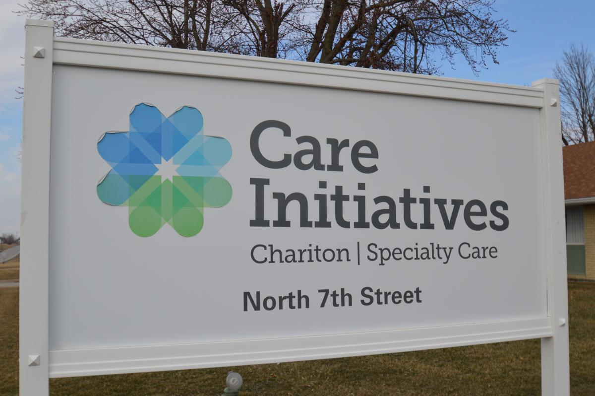 Chariton Specialty Care sign