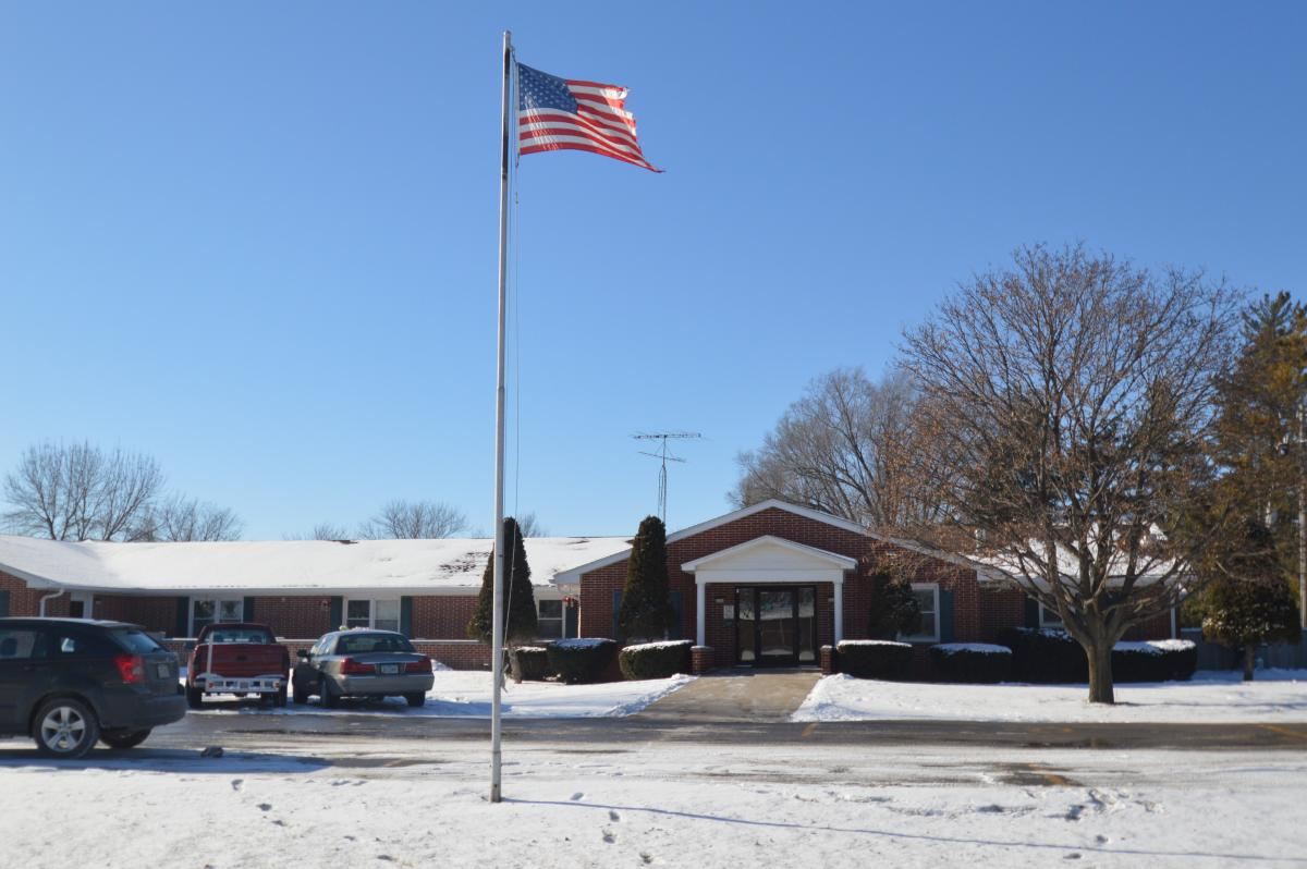 Wapello Specialty Care building