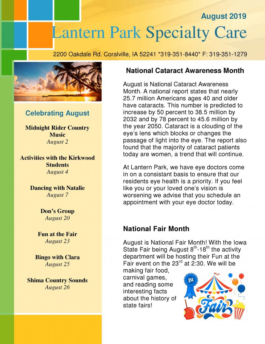 News & Events | Care Initiatives