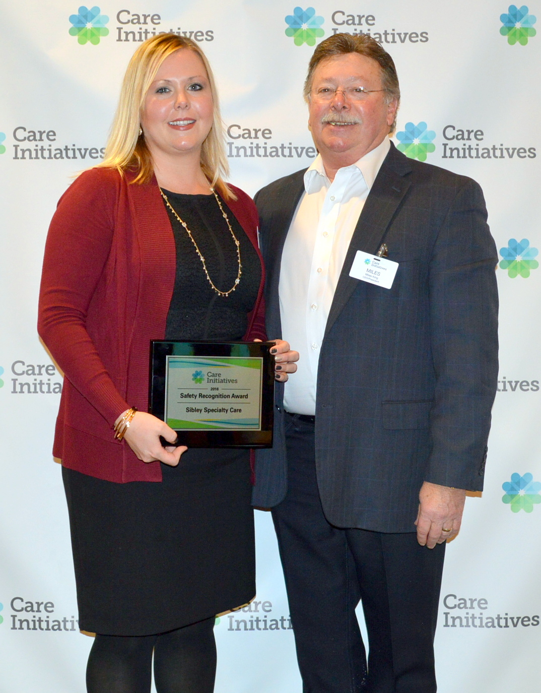 Sibley Specialty Care safety award