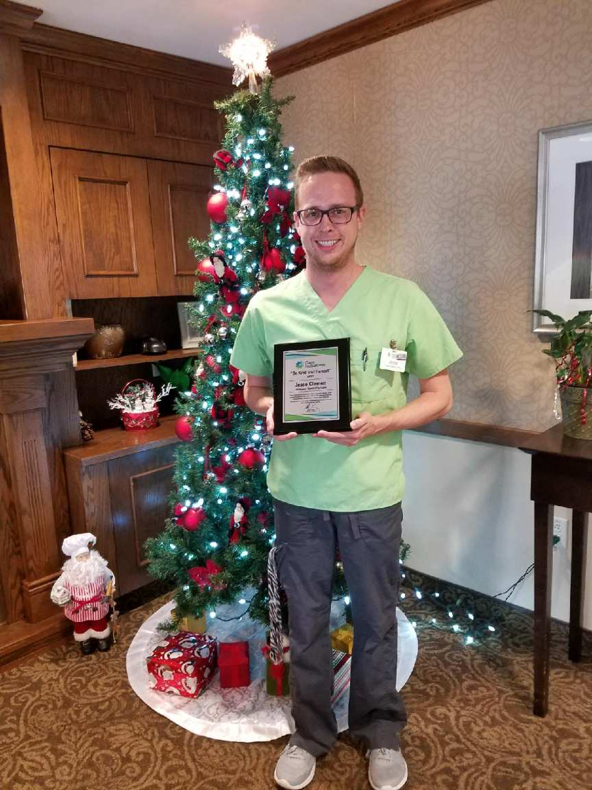 Jesse Clemen Dubuque employee award