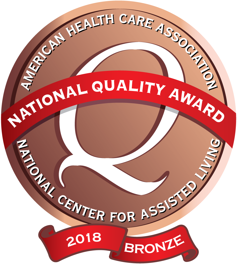 AHCA Bronze award