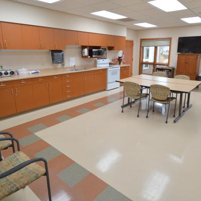 Northern Mahaska activities room