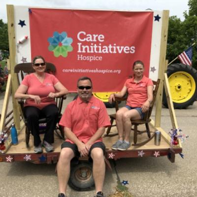 Greenfield Hospice 4th parade