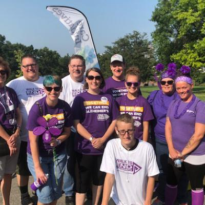 Parkridge Alz Walk 2018