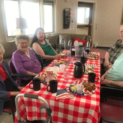Dunlap Auxiliary picnic