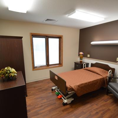 Northern Mahaska private bedroom