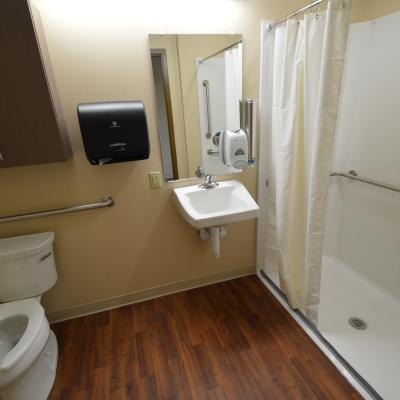 Northern Mahaska private bathroom