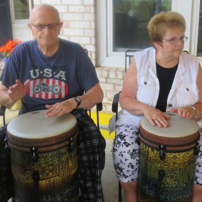 Creston drumming 6.18
