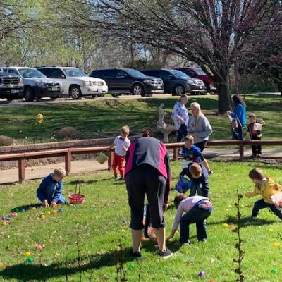 Centerville Easter egg hunt