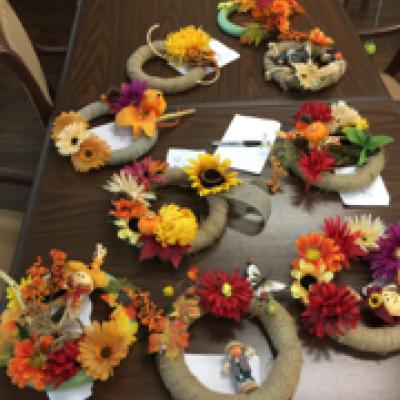 Eldora fall wreaths