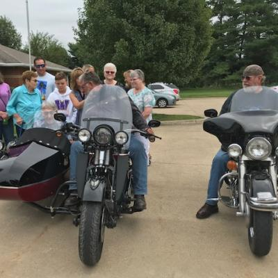 DSM Hospice motorcycle