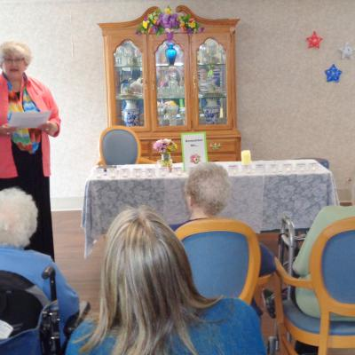 belle plaine, hospice memorial service