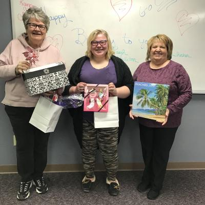 SC Hospice New Year's prizes
