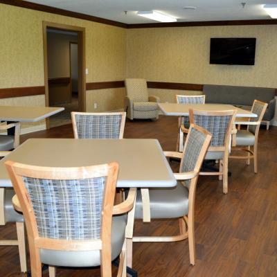 Panora Rehab2Home dining