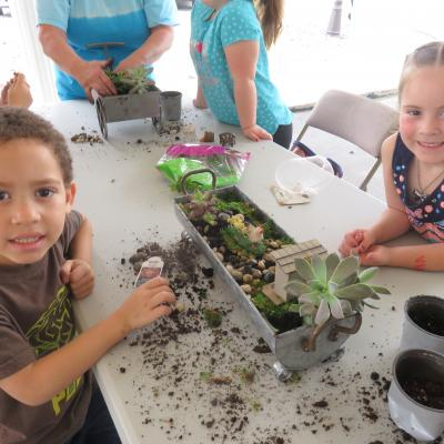 Creston Preschool Fairy Gardens