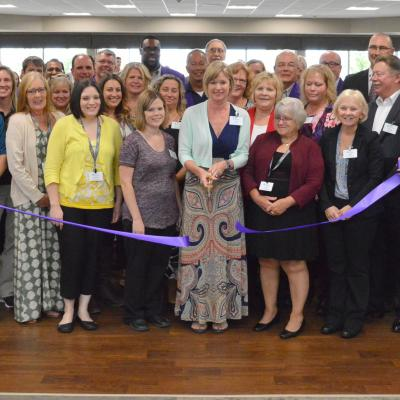 Pinnacle ribbon cutting