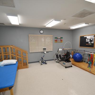 Odebolt therapy room