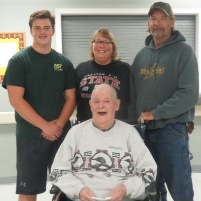 Creston Veteran award