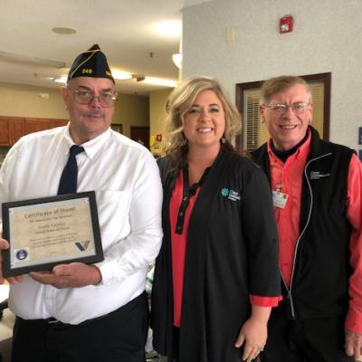DSM Hospice Veterans Day