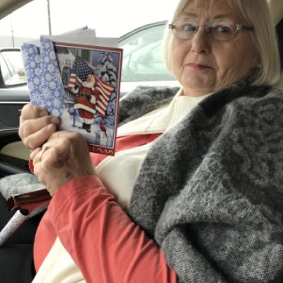 SC Hospice veterans Christmas cards