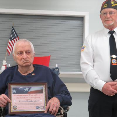 Creston vet recognition 4.18