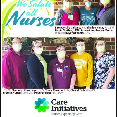 Eldora nurses week